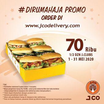 Promo J.CO Ramadhan J.Clubs 1/2 lusin
