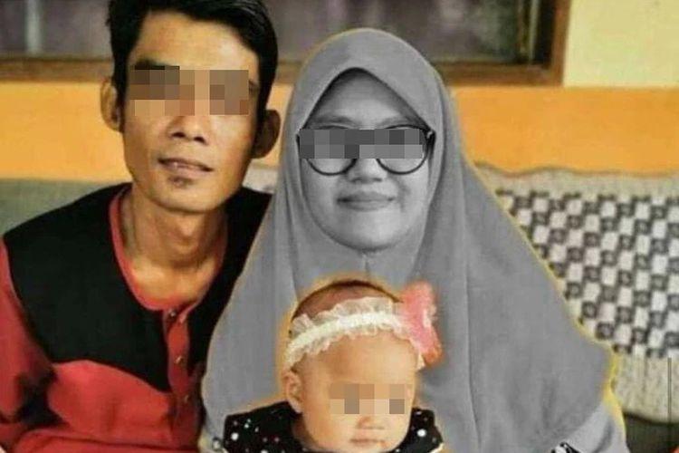 Nur Almass Zasmi (23) tewas ditabrak truk di Kulim, Kedah, Malaysia, pada Kamis (17/9/2020). Ia tak sengaja ditemukan suaminya yang kebetulan melintas di TKP.