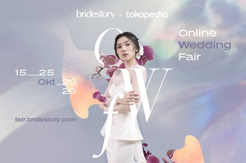 Bridestory Gelar Pameran Pernikahan Online,  Ada Lebih dari 100 Vendor