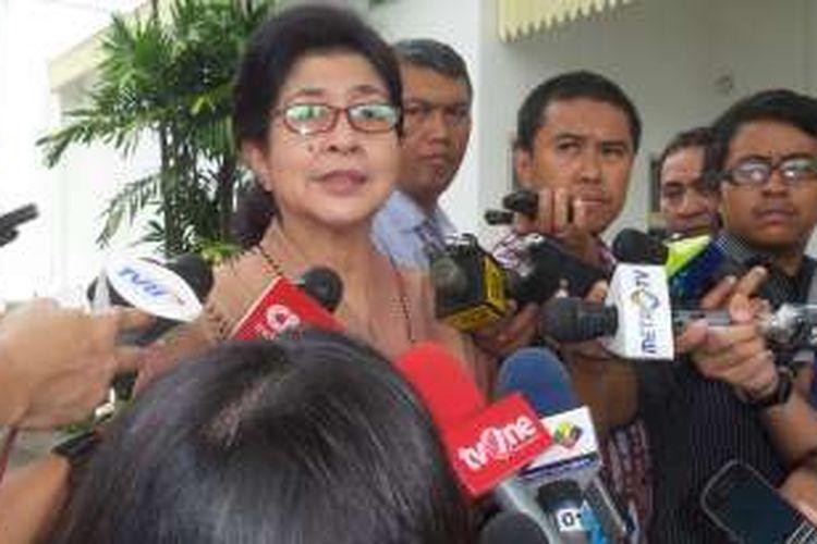 Menteri Kesehatan Nila Farid Moeloek.