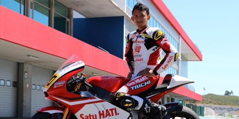 Pebalap Indonesia binaan PT Astra Honda Motor, Dimas Ekky Pratama.