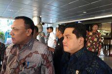 Ketua KPK Diminta Erick Thohir Bantu Cegah Korupsi di BUMN