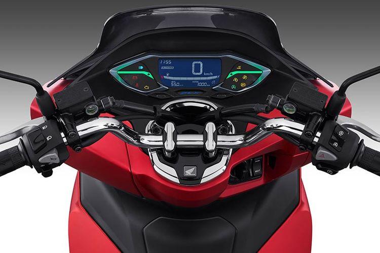 New full digital panel meter Honda PCX 160.