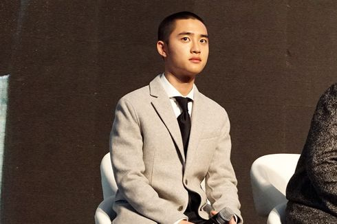 D.O EXO Terbawa Ritme Shooting 100 Days My Prince