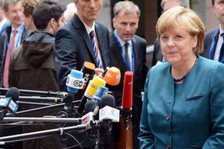 Majalah Forbes memilih Kanselir Jerman Angela Merkel sebagai perempuan paling berpengaruh di dunia pada 2013.