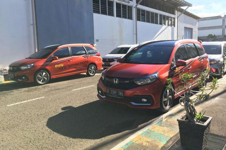 Lomba Irit Honda Mobilio