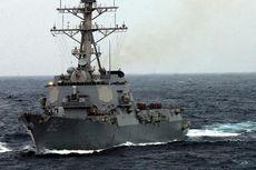 Kapal Perang AS Berlayar Dekat Pulau Buatan China di Laut China Selatan