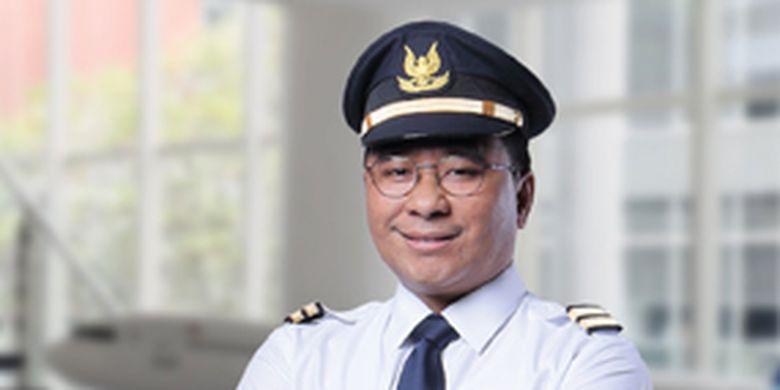 Direktur Kargo dan Pengembangan Usaha Garuda Indonesia Mohammad Iqbal