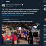 Pedagang Kaki Lima di Thailand Dijuluki CIA Saat Demo, Ini Alasannya