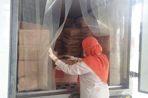 Sebanyak 437,5 Kilogram Sosis Disita di Pangkal Pinang