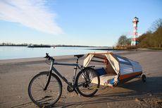 Desain Rumah Pohon Portabel, Ringkas dan Bisa Dibawa dengan Sepeda