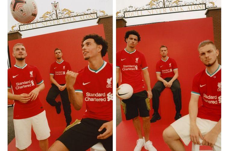 Jersey Kandang Liverpool 2020/2021