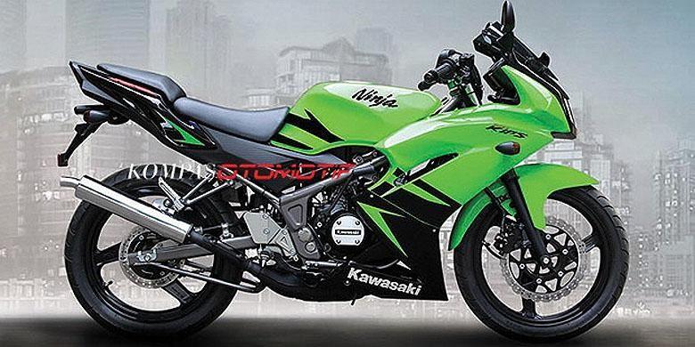 Kawasaki Ninja 150RR 2-tak akan pensiun Juli 2015.