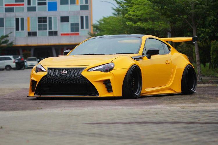 Modifikasi Toyota FT86 Terinspirasi dari Video Game Need For Speed
