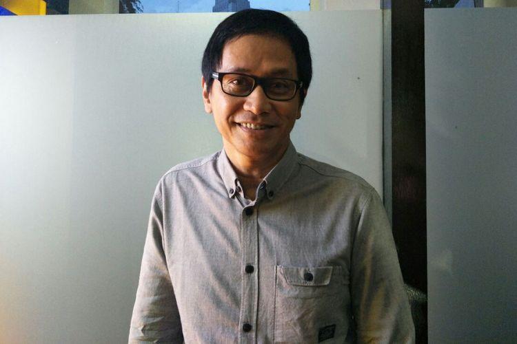 Addie MS ditemui di Wisma Serbaguna, Gelora Bung Karno, Jakarta Pusat, Minggu (27/5/2018).