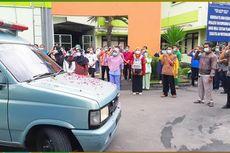 Mengharukan, 300 Pegawai RSUD Soedono Beri Penghormatan Terakhir ke Perawat yang Gugur Terpapar Corona