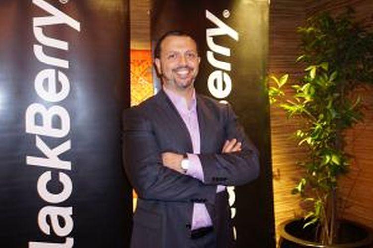 Nader Henein, BlackBerry Security Director