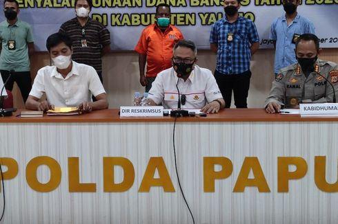 Jadi Tersangka Korupsi Dana Bansos, Mantan Bupati Yalimo Ditahan Polda Papua