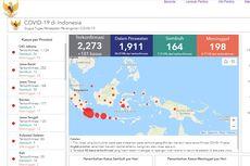 Berikut Sebaran 2.273 Kasus Positif Covid-19 di 32 Provinsi di Indonesia