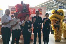 Imlek di Stasiun Jakarta Kota, Ada Barongsai hingga Bagi-bagi Fortune Cookies