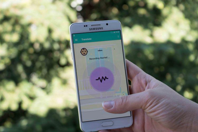 Software ini bisa menerjemahkan tangisan bayi, menganalisanya, kemudian menentukan kondisi psikologis si bayi dalam bentuk teks, gambar, dan pesan suara.