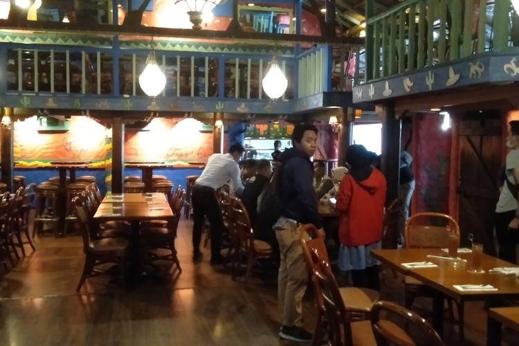 restoran bergaya Meksiko bernama Amigos di bilangan Kemang, Jakarta Selatan, Senin (2/3/2020)