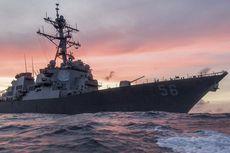 Kapal Perang AS Tabrak Tanker di Perairan Singapura, 10 Awak Hilang