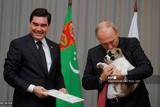 Turkmenistan Rayakan Hari Libur untuk Hormati Ras Anjing Gembala