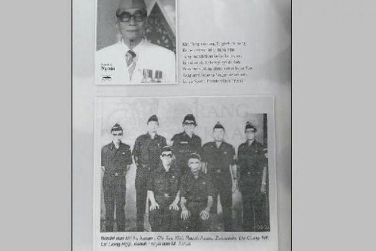 Foto mengenai Kim Teng dalam buku