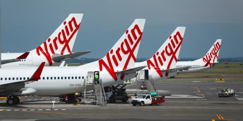Virgin Airlines.
