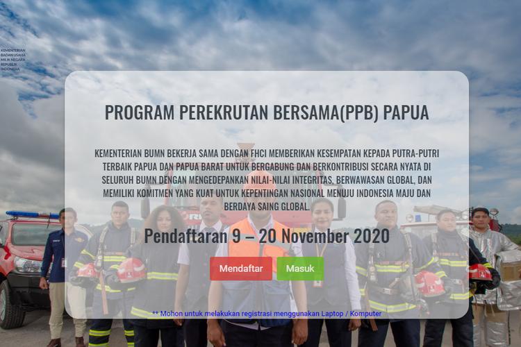 Kementerian Bumn Buka Lowongan Kerja Untuk Putra Putri Papua Dan Papua Barat