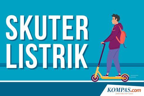 Jika Melintas di Jalan Raya, Pengguna Skuter Listrik Akan Dihentikan Dishub