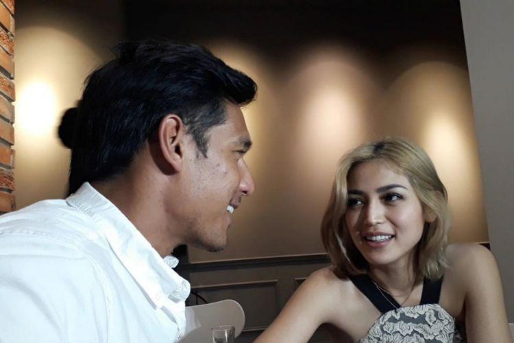 Jessika Iskandar dan Richard Kyle saat ditemui di kawasan Kebayoran Baru, Jakarta Selatan, Minggu (2/12/2018).