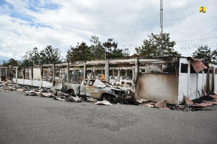 Sepuluh kantor pemerintahan rusak pascra kerusuhan Wamena