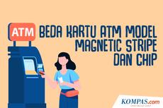 INFOGRAFIK: Beda Kartu ATM Model Magnetic Stripe dan Chip