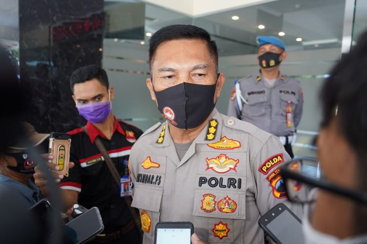 Kabid Humas Polda Jawa Tengah Kombes Pol Iskandar Fitriana Sutisna, Jumat (4/9/2020).