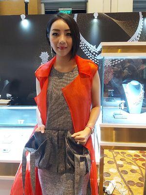 Pendiri merk perhiasan Passion Prive, Airyn Tanu.