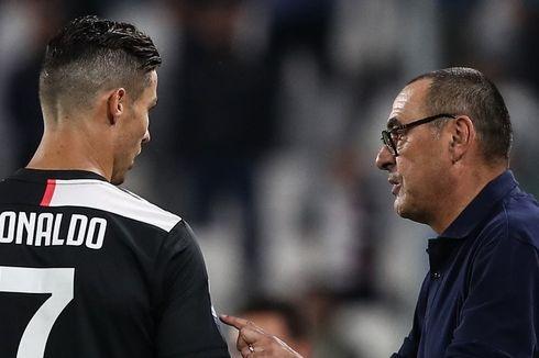 Juventus Vs Lokomotiv Moskwa, Saat Ronaldo dan Sarri Saling Puji