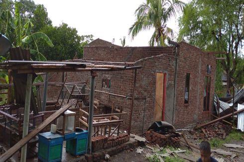 Puting Beliung di Dompu, 4 Warga Terluka dan Puluhan Rumah Rusak