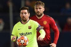 Bagi Luke Shaw, Cristiano Ronaldo dan Lionel Messi Tak Setangguh Victor Moses