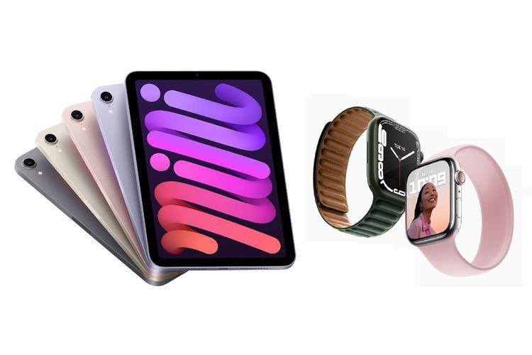 Apple Watch Series 7, iPad Mini 6, dan iPad 9