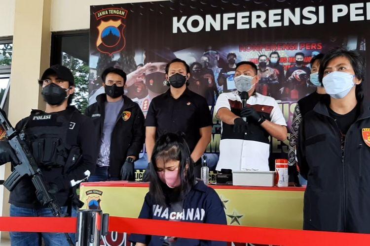 Gelar perkara pencurian dengan kekerasan di Mapolrestabes Semarang, Selasa (6/4/2021)
