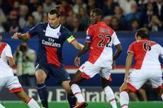 Gol Ibra Dibalas Falcao, PSG Kontra Monaco Berakhir Seri