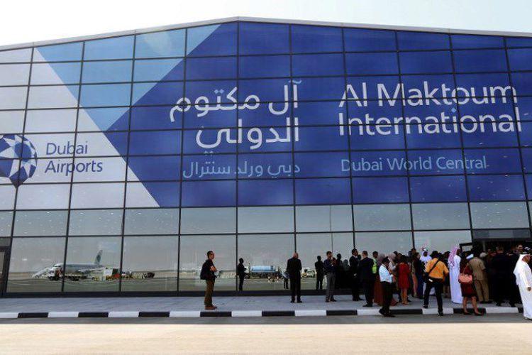 Bandara internasional Dubai.
