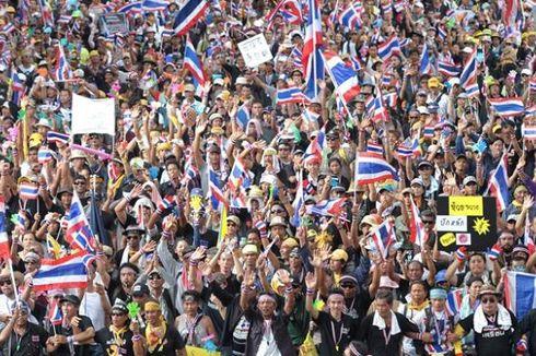 Pendemo dari Luar Masuk ke Bangkok