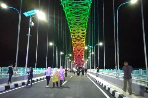 Uji Coba Jembatan Mahakam IV, Truk Dilarang Melintas