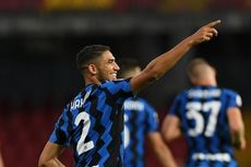 Benevento Vs Inter Milan, Sinar Terang Achraf Hakimi bersama Nerazzurri