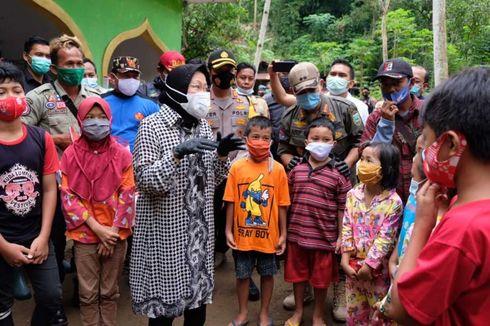 Mensos Risma Usulkan Relokasi Warga Korban Longsor Kebumen