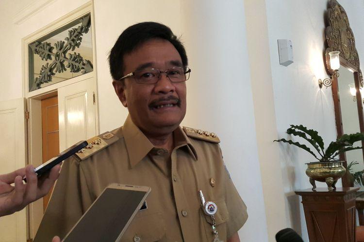Gubernur DKI Jakarta Djarot Saiful Hidayat di Balai Kota DKI Jakarta, Jalan Medan Merdeka Selatan, Selasa (5/9/2017).