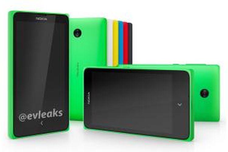 Inikah ponsel Android besutan Nokia?